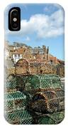 Crail Harbour And Lobster Pots IPhone Case