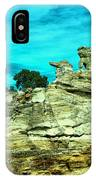 Crazy Rock Formations In New Mexico IPhone Case