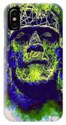 Frankenstein Watercolor IPhone Case