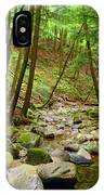 Creek In Massachusetts 2 IPhone Case