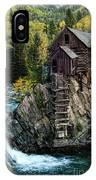 Crystal Mill IPhone X Case