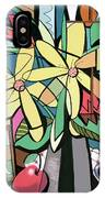 Daisy's And Tulips IPhone Case by Anthony Falbo