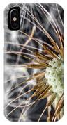 Dandelion Seed Pod IPhone Case