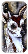 Day Of The Dead Chihuahua IPhone Case by Patricia Lintner