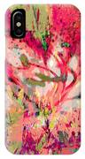 Decomposed Pink Lily  IPhone Case