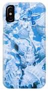 Deep Blue IPhone X Case