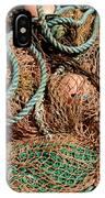 Deep Sea Fishing Nets And Buoys IPhone Case