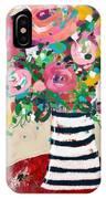 Delightful Bouquet 5- Art By Linda Woods IPhone Case