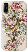 Design For Sprays Of Flowers IPhone Case