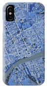 Detroit Map Retro 5 IPhone X Case