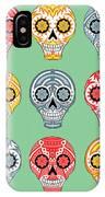 Dia De Muertos Skulls IPhone Case