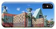 Disney Dolphin Hotel IPhone X Case