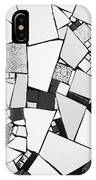 Divided Shapes IPhone Case