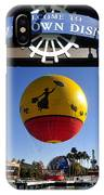 Downtown Disney Tribute Poster 2 IPhone Case