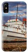 Duke Of Lancaster Ship IPhone X Case