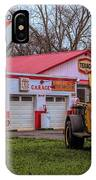 Evening At The Old Garage IPhone Case by Kristia Adams