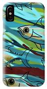 F Is For Fish IPhone X Case