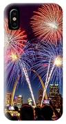Fair St. Louis Fireworks 6 IPhone Case by Matthew Chapman