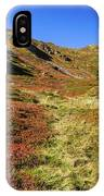 Fall On The Mountains IPhone Case