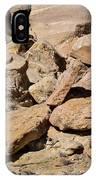 Fallen Sandstone Boulders IPhone Case
