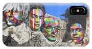 Famous Contemporary Artists Mural IPhone X Case
