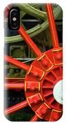 Fancy Tractor Wheel IPhone Case
