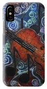 Fiddle 1 IPhone Case