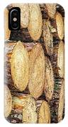 Firewood  IPhone Case by Nick Bywater