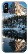 First Snow At Lake Blanche IPhone Case by James Udall
