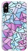 Comfortably Cosmic, In Lavendar IPhone X Case