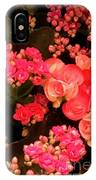 Flowers At Wynn IPhone Case by Laurie Lundquist