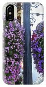 Flowers In Balance IPhone Case by Mae Wertz
