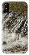 Flowing Water Over Rocks IPhone Case