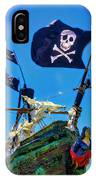 Flying The Pirates Colors IPhone X Case