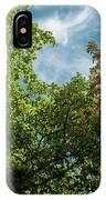 Folhas De Outubro IPhone Case