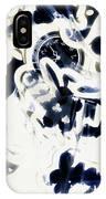 Follow The Blue Rabbit IPhone X Case
