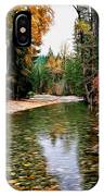 Forest With River IPhone Case