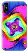 Fractal Art With Bold Colors Square IPhone Case