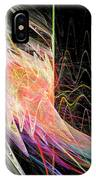 Fractal Beauty Deluxe Colorful IPhone Case by Don Northup