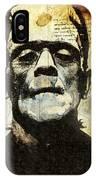 Frankenstein's Notebooks IPhone Case