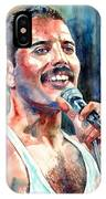 Freddie Mercury Live Aid IPhone X Case