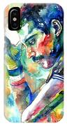 Freddie Mercury With Cigarette IPhone Case