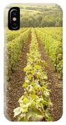 French Vineyards Of The Champagne Region IPhone Case