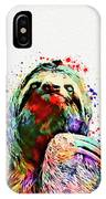 Funny Sloth IPhone Case