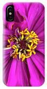 Fuschia Bloom IPhone Case