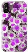 Fuscia Girls IPhone Case by Cindy Greenstein