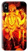 Ganesha4 IPhone Case