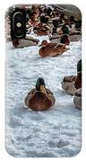 Gathering #i3 IPhone Case by Leif Sohlman