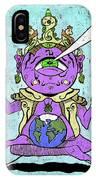 Gautama Buddha Colour Illustration IPhone X Case