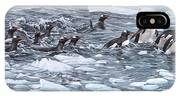 Gentoo Penguins By Alan M Hunt IPhone Case